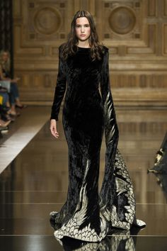 """game-of-style: """"Mourning gown for Lysa Arryn - Tony Ward Haute Couture Fall 2016 """""""