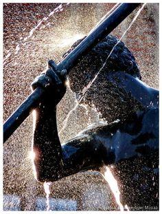 #Danzig #Gdansk / Neptune's #Fountain | fot. Kamil Andrzej Misiak