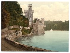 Blackrock Castle, County Cork - photochrom print of Ireland courtesy of Library of Congress Ireland Pictures, Old Pictures, Old Photos, Places To Travel, Places To See, County Cork Ireland, Galway Ireland, Irish Traditions, Ireland Travel