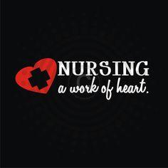Nurses Are A Work Of Heart Decal  Vinyl Sticker by gotdecalz, $7.99
