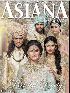 We made it on yet another front cover of Asiana Wedding Magazine Summer Indian Bridal Fashion, Asian Fashion, Magazine Cover Page, Groom And Groomsmen Attire, Pastel Mint, Asian Bride, Jewellery Uk, Wedding Pins, Your Turn