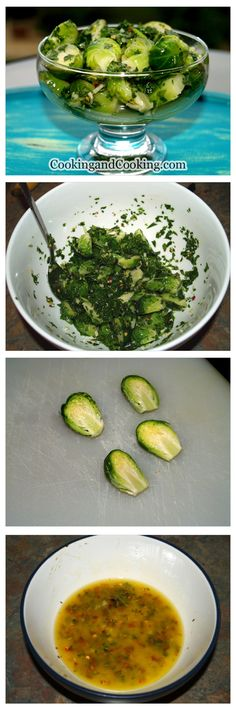 Marinated Brussels Sprouts recipe is an incredible side dish or appetizer, especially if you love Brussels sprouts. This is a great make ahead recipe, and get better and better as they sit in the refrigerator.
