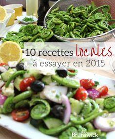 10 recettes pour 2015 : Petits plats réconfortants ou gourmandises savoureuses : servez les délices du Nouveau-Brunswick à votre table. #ExploreNB