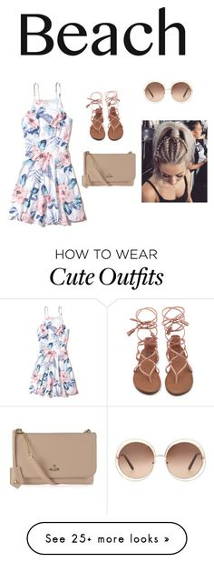 """""""A cute outfit it wear to the docks."""" by kelseylarge on Polyvore featuring Hollister Co., Vivienne Westwood and Chloé"""