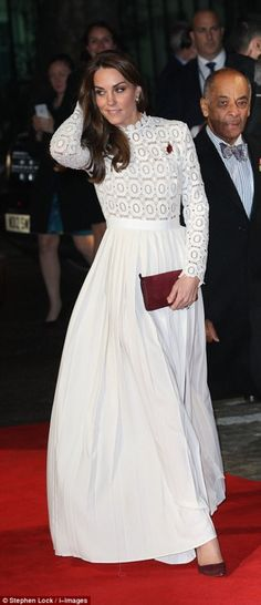 """Catherine, Duchess of Cambridge attends the UK Premiere of """"A Street Cat Named Bob"""" in aid of Action On Addiction in London"""
