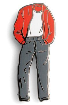 PINTRILL 'Jim Stark' Fashion Accessory Pin