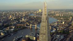 At a height of up to 800ft or 244m, the View from The Shard offers spectacular views over London