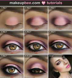 @Sarah Chintomby Segovia Look! Easy step by step. Use whatever colors you want, I know you're not keen on pinks.