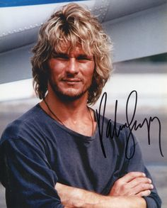 patrick swayze | Patrick Swayze - Movies & Autographed Portraits Through The Decades