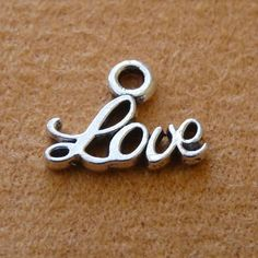 Excited to share the latest addition to my #etsy shop: 10x Love Charms, Bracelet Charms, Necklace Pendants Charms, Antique Silver Tone Love Charms http://etsy.me/2DWHimm