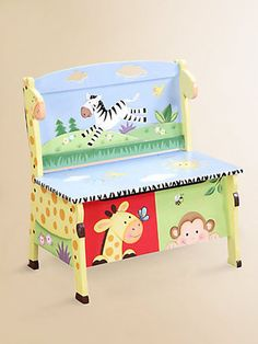 Mueble para niños en arte country