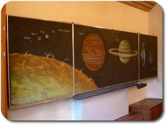 chalkboard drawings for the Waldorf-school from Till Walther (Tafelbilder in der Waldorfschule)