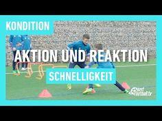 Fussballtraining: Aktion und Reaktion - Schnelligkeit - Kondition - YouTube Soccer Practice Drills, Football Drills, Gareth Bale, Soccer Coaching, Soccer Training, Social Skills Activities, Activities For Kids, Goalkeeper, Teamwork