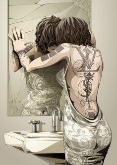 Tattoo 2 by Man-Tsun Tsang on Behance