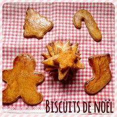Biscuits de Noël sur www.croquantetgourmand.com C'est le père Noël qui sera content !