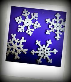Pyssla: Sneeuwvlokken