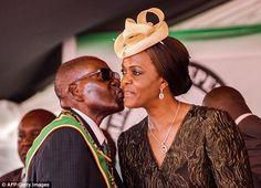 GRACE MUGABE URGES HER FRAIL HUSBAND ROBERT MUGABE, 93, TO NAME HIS SUCCESSOR AMID RUMOURS SHE WANTS TO BE PRESIDENT