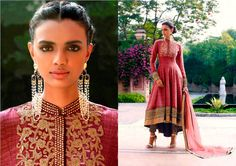 This is a Bollywood Indian Designer Salwar Kameez product which looks exactly same as displayed Floral Embroidery Suits Designer Reddish Kadhi