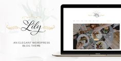 Lily - An Elegant WordPress Blog Theme (Personal) - http://creativewordpresstheme.com/lily-an-elegant-wordpress-blog-theme-personal/
