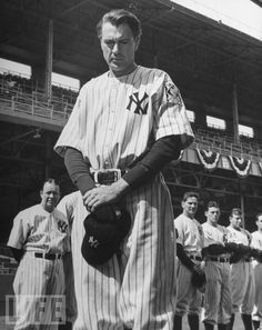Gary Cooper's speech as Lou Gehrig in 1942's Pride of the Yankees remains one of the most beloved in film history.
