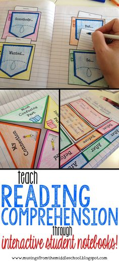 Ever use your Interactive Student Notebooks to teach Reading Comprehension? Once you start, you'll never look back! Try it out today!!