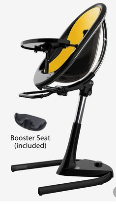 Infant Mima Moon Highchair, Size One Size - Black Toddler Chair, Toddler Boys, Cute Desk, Frame Light, Chair Height, Black Camel, Black White Pattern, Seat Pads, Desk Chair