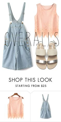 """Simple"" by four-hearted ❤ liked on Polyvore featuring TrickyTrend and overalls"