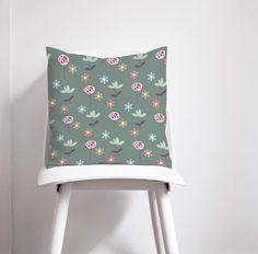 Green cushions Floral cushion Green throw pillows Floral | Etsy Floral Cushions, Green Cushions, Cushions On Sofa, Deer Lamp, Contemporary Cushions, Green Lamp Shade, Forest Decor, Green Throw Pillows, Nursery Neutral