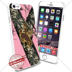 New iPhone 6 Case Wyoming Cowboys Logo NCAA #1731 White Smartphone Case Cover Collector TPU Rubber [Pink Camo] SURIYAN http://www.amazon.com/dp/B015CWJHF4/ref=cm_sw_r_pi_dp_D08zwb0AWVEPD
