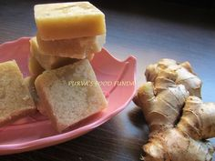 Food Funda: Aale Pak (Ginger Sweet Cubes)