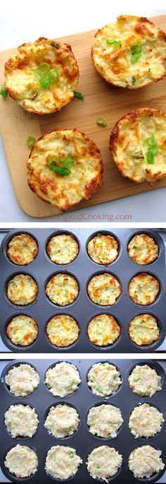 Mashed Potato Muffins Recipe
