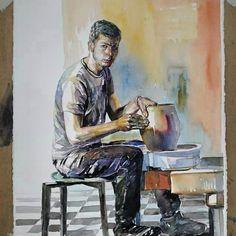 Suluboya Painting, Art, Art Background, Painting Art, Kunst, Gcse Art, Paintings, Painted Canvas, Art Education Resources