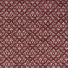 Warwick Fabrics : KENNETT SCARLET