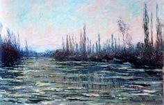"""""""Floating Ice by Claude Monet """""""
