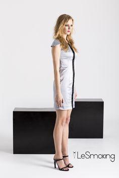cocktail grey dress