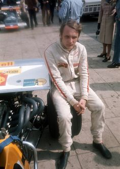Remembering Niki Lauda: 20 Best Photos of Austrian Formula One Legend in the and Early ~ vintage everyday F1 Motor, James Hunt, Racing Events, Sport Icon, F1 Drivers, Car And Driver, Road Racing, Mercedes Amg, Formula One