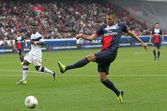 PARIS - TOULOUSE : 2-0 Jérémy Ménez, de retour dans le onze de départ du Paris Saint-Germain