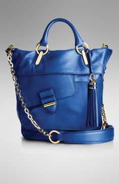 Indulge in Spring s bright sun and blue skies by getting your hands on this  fabulous Derek Lam Deep Blue Glove Leather bucket bag. 25e9eb9911