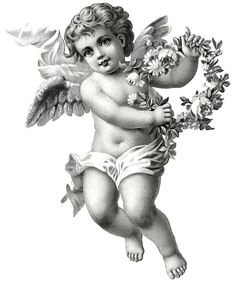 Back Tattoo Quotes - Mandala Hip Tattoo - - Angel Tattoo For Women, Baby Angel Tattoo, Cupid Tattoo, Tattoo Baby, Lion Tattoo, Angel Sketch, Angel Drawing, Angel Tattoo Drawings, Chicano Angel Tattoo