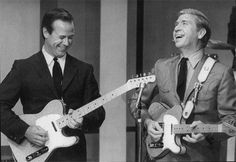 Buck & Don...Two legends of the Fender Telecaster