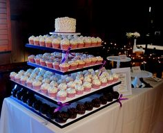 cupcake wedding cakes | Cupcake Wedding at Buffalo Trace Bourbon Distillery Frankfort, KY