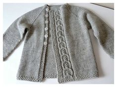This Olive You Baby Cardigan Free Knitting Pattern is a simple and warm jacket perfect for both genders. Make one now with the free pattern provided by the link below.