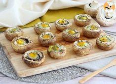 Champignons aux œufs de caille, Recette Ptitchef