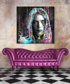 Tableau Billie Eilish - Tableau Deco Billie Eilish, Tableau Pop Art, Street Art, Collage, Journal, Painting, Ideas, Impressionism, Canvas