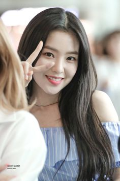 I like you Irene when you smile