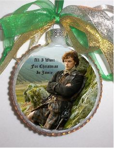 Outlander Jamie inspired tribute Glass by KustomKeepsakesHD