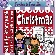 Christmas Nativity Book by Ponder and Possible | TpT
