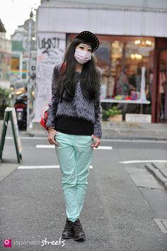130217-3655 - Japanese street fashion in Harajuku, Tokyo #AMERICANAPPAREL #PINATRIPWITHAA