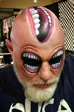 Halloween makeup ideas (maquillaje halloween special effects) Scary Makeup, Halloween Face Makeup, Horror Make-up, Sfx Make-up, Halloween Karneval, Fantasy Make Up, Fantasias Halloween, Maquillaje Halloween, Make Up Art