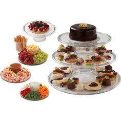 Creative Bath 3-Tier Cake serving tower - Walmart.com